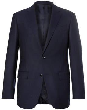 Ermenegildo Zegna Navy Slim-Fit Wool Blazer