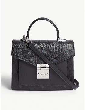 MCM Patricia Classic Visetos coated canvas satchel