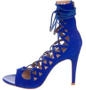 Joie Quinn Suede Sandals w/ Tags