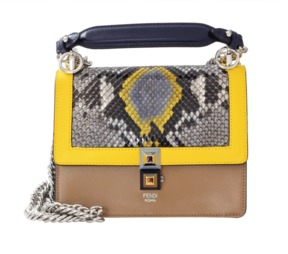 FENDI Mini Kan I Shoulder Bag