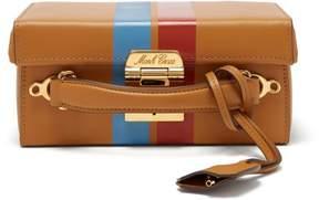 Mark Cross Grace Small Smooth Leather Box Bag - Womens - Tan Multi