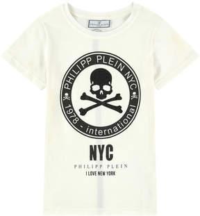 Philipp Plein Graphic T-shirt with rhinestones