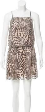Anna Sui Sequin-Embellished Mini Dress