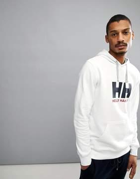 Helly Hansen Logo Hoodie In White