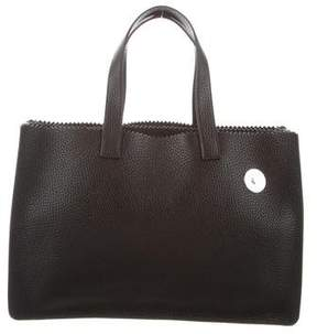 Kara Leather Handle Bag