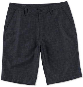 O'Neill Men's Leer Classic-Fit Stretch Windowpane Shorts