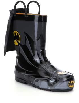 Western Chief Batman Everlasting Caped Boys Rain Boots