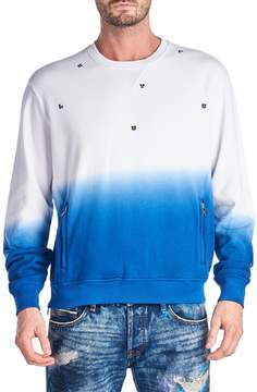 Cult of Individuality Men's Scattered Cotton Sweatshirt
