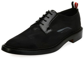 Thom Browne Blucher Combo Lace-Up Oxford