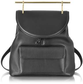 M2Malletier Black Leather Backpack