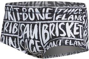 Funky Trunks Men's iBeefed Plain Front Square Leg Brief Swimsuit 8162898