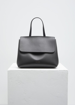 Mansur Gavriel black / flamma mini lady bag