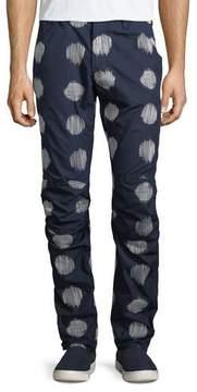G Star G-Star Kimono-Print Cotton Jeans