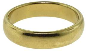 Tiffany & Co. & Co. Classic 18K Yellow Gold Wedding Band Ring Size 12.75 - 13