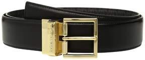 MICHAEL Michael Kors Reversible Smooth to Logo Belt Women's Belts