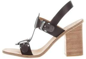 Marc by Marc Jacobs Leather Ankle Strap Sandals