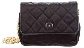 Chanel Quilted Satin Mini Flap Bag