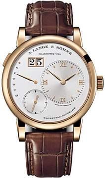 A. Lange & Söhne A. Lange and Sohne Lange 1 320.032 18K Rose Gold Silver Dial 39.5mm Mens Watch