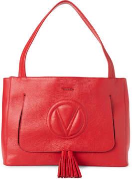 Mario Valentino Valentino By Goji Berry Ollie Leather Shoulder Bag