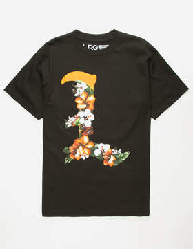 Lrg Leaves Black Mens T-Shirt