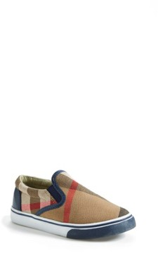 Infant Boy's Burberry Linus Slip-On
