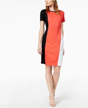 Bar III Colorblocked Bodycon Dress, Created for Macy's