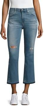 AG Adriano Goldschmied Women's Jodi Distressed Ankle Jean