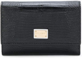 Dolce & Gabbana Dauphine wallet - BLACK - STYLE