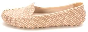 Cole Haan Womens Mackenziesam Closed Toe Taupe/Pink/Snake