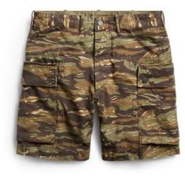 Ralph Lauren Camo Cotton Cargo Short Tiger Stripe Camo 31