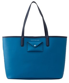 Marc by Marc Jacobs Metropolitote Colorblocked Leather Tote. - BLUE - STYLE