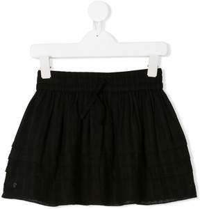 Zadig & Voltaire Kids layered short skirt