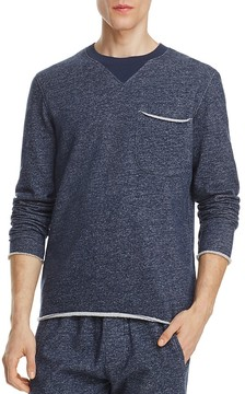 ATM Anthony Thomas Melillo Brushed Terry Mélange Sweatshirt