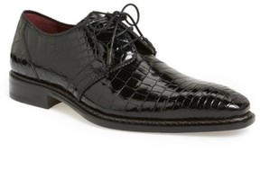 Mezlan Men's 'Marini' Alligator Leather Derby