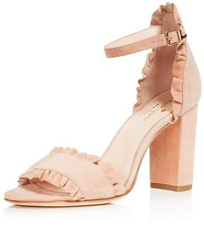 Kate Spade Women's Odele Suede High-Heel Sandals