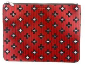 Givenchy Printed Zip Clutch