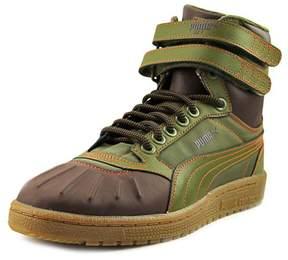 Puma Sky II Hi Duck Boot Men US 9.5 Green Fashion Sneakers