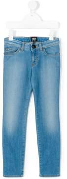 Emporio Armani Kids faded jeans