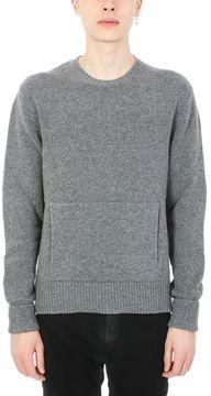 Neil Barrett Grey Wool Knit