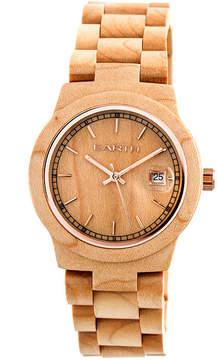Earth Wood Biscayne Unisex Brown Bracelet Watch-Ethew4201