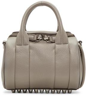 Alexander Wang Grey Mini Rockie Bag