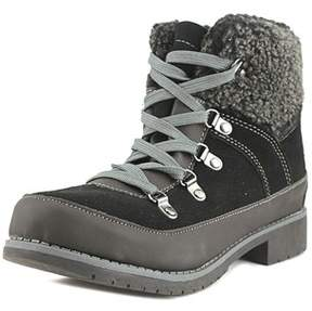 Sporto Womens Debbie Suede Closed Toe Ankle Cold Weather Boots.