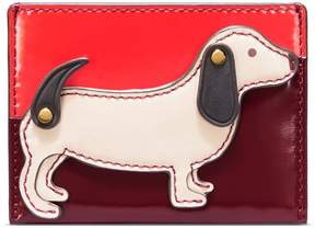 Tory Burch DACHSHUND SLIM CARD CASE - LIBERTY RED - STYLE
