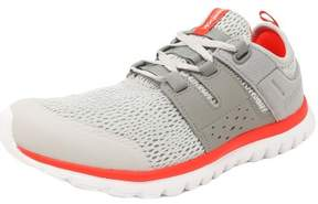Reebok Women's Sublite Authentic 2.0 Steel / Grey Gravel Cherry White Ankle-High Fabric Running Shoe - 7M
