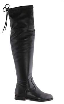 Anna Baiguera Women's Black Leather Boots.