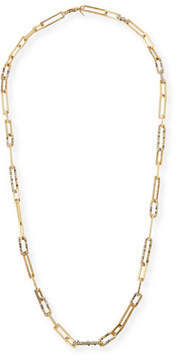 Alexis Bittar Crystal-Encrusted Link Necklace, 32