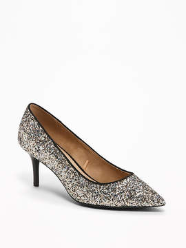 Old Navy Classic Glitter Pumps for Women