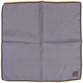 One Kings Lane Vintage Louis Vuitton Navy Silk Pocket Scarf - Vintage Lux