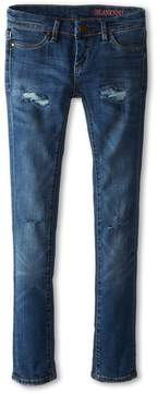 Blank NYC Kids - Distressed Denim Skinny Jeans in No Time For Dat Girl's Jeans