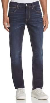 Hudson Blake Slim Straight Fit Jeans in Smart Aleck